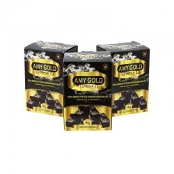 Węgiel Kokosowy AMY Gold 72 kostki 1 kg